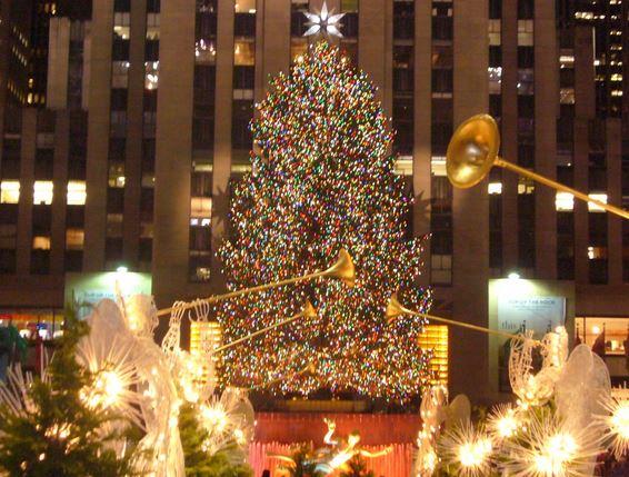 Rockefeller center distinto planear y viajar - Cuento del arbol de navidad ...